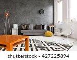 creative design of spacious... | Shutterstock . vector #427225894