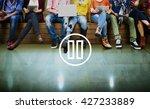 pause media audio video music... | Shutterstock . vector #427233889
