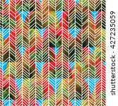 stylish seamless pattern in... | Shutterstock .eps vector #427235059