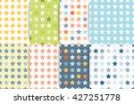 star geometric seamless pattern ... | Shutterstock .eps vector #427251778