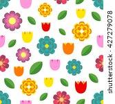 beautiful seamless pattern of... | Shutterstock .eps vector #427279078