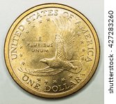 Us Gold Dollar Coin Featuring...