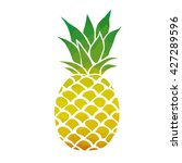 pineapple   vector illustration | Shutterstock .eps vector #427289596