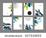 abstract background. geometric... | Shutterstock .eps vector #427310053