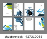 abstract background. geometric... | Shutterstock .eps vector #427310056