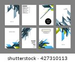 abstract background. geometric... | Shutterstock .eps vector #427310113