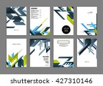 abstract background. geometric... | Shutterstock .eps vector #427310146