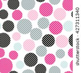 Seamless Dots Pattern With...