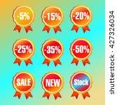 discount vector graphics | Shutterstock .eps vector #427326034