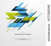 geometric vector background....   Shutterstock .eps vector #427330540