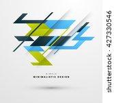 geometric vector background....   Shutterstock .eps vector #427330546