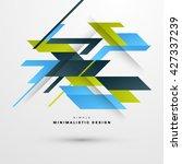 geometric vector background....   Shutterstock .eps vector #427337239