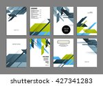 abstract background. geometric... | Shutterstock .eps vector #427341283