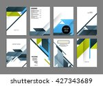 abstract background. geometric... | Shutterstock .eps vector #427343689