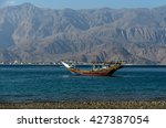 Typical Wooden Arabic Boat Dho...
