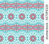 vector ethnic colorful bohemian ...   Shutterstock .eps vector #427395220