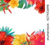 greeting card  invitation ... | Shutterstock .eps vector #427452898
