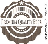 premium quality beer retro... | Shutterstock .eps vector #427468210