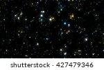 space background with stars.... | Shutterstock . vector #427479346