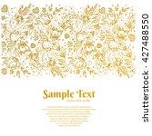beautiful vector background... | Shutterstock .eps vector #427488550