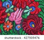 multicolor floral hand... | Shutterstock . vector #427505476