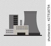 industry design. factory icon.... | Shutterstock .eps vector #427518754