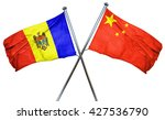 moldova flag  combined with... | Shutterstock . vector #427536790