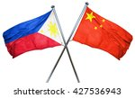 philippines flag  combined with ... | Shutterstock . vector #427536943