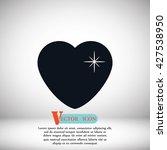 heart star | Shutterstock .eps vector #427538950