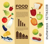 food design. infographic icon.... | Shutterstock .eps vector #427563208