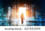 success concept with... | Shutterstock . vector #427591999