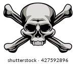 A Skull And Crossbones...