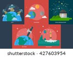 space and universe | Shutterstock .eps vector #427603954