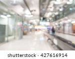 abstract blur airport passenger ... | Shutterstock . vector #427616914