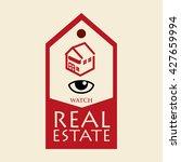 real estate design. home... | Shutterstock .eps vector #427659994