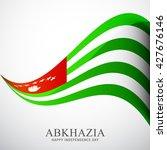 vector illustration of abkhazia ... | Shutterstock .eps vector #427676146