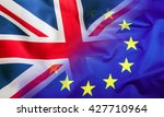 flags of the united kingdom and ... | Shutterstock . vector #427710964