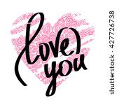 "hand drawn word ""love"". mandala ... 