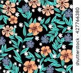 flower pattern | Shutterstock .eps vector #427766380