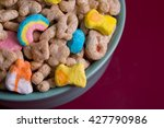 Stock photo marshmallow cereal in a bowl 427790986
