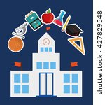 school design.  education... | Shutterstock .eps vector #427829548