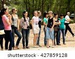 petropavlovsk  kazakhstan   may ... | Shutterstock . vector #427859128