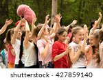 petropavlovsk  kazakhstan   may ...   Shutterstock . vector #427859140