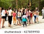 petropavlovsk  kazakhstan   may ... | Shutterstock . vector #427859950