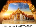 the marble temple  wat... | Shutterstock . vector #427867069