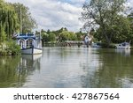 Small photo of The River Thames at Goring