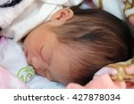 cute baby of two days old... | Shutterstock . vector #427878034