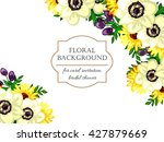 vintage delicate invitation... | Shutterstock . vector #427879669