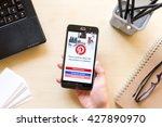 chiang mai  thailand   mar 18 ... | Shutterstock . vector #427890970