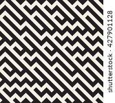 vector seamless black and white ... | Shutterstock .eps vector #427901128